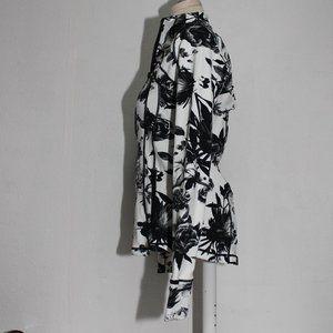lululemon athletica Jackets & Coats - Lululemon Brisk Bloom Black White Floral Jacket